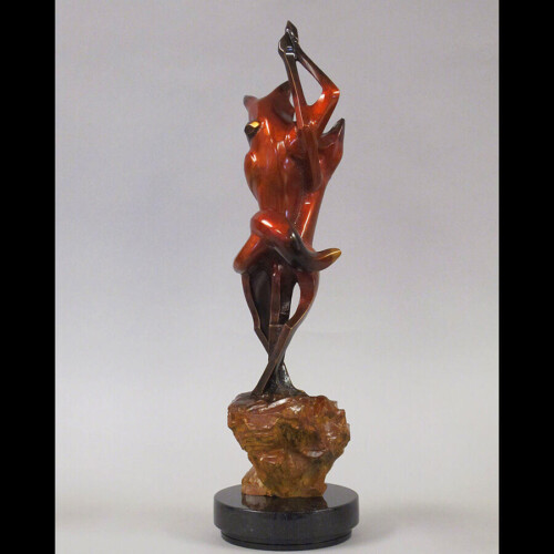 Limited Edition Bronze Fox Scultpture