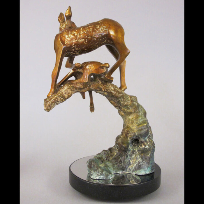 Limited Edition Bronze Deer