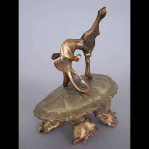 Tortoise and Hare Bronze Statue